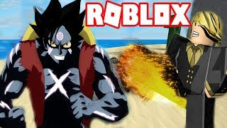 Roblox-Owned Haki Haki Observed Armed Luffy And the power of the black Leg Sanji | Steve's One Piece