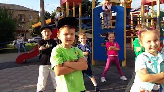 Дети Малыши Танцы Хип-Хоп Central Flava Crew Школа Танцев Дмитрия Молоткова г.Смела