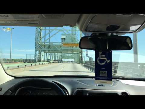 Little Video Clip of Road Trip Going Over Cape Fear Memorial Bridge