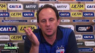 [Série B '18] Coletiva Rogério Ceni   Pós-jogo Fortaleza EC 2 X 1 Guarani FC   TV ARTILHEIRO