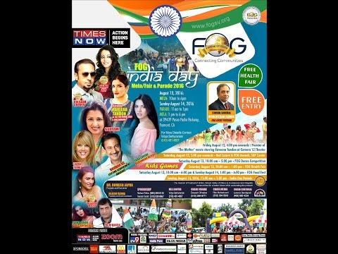 FOG India Day Parade and Mela - Free Entry