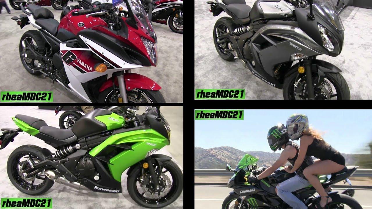 2014 Kawasaki Ninja 650R Or Yamaha FZ6R As A Beginner Bike Charity Program