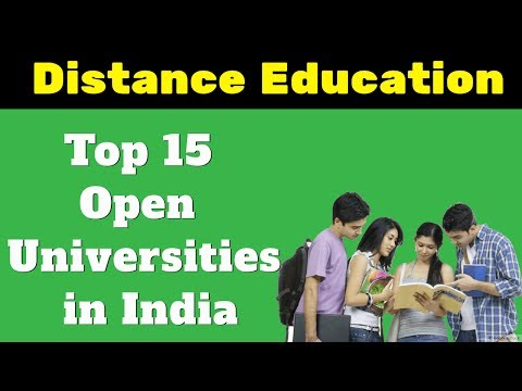 Top 15 Open Universities in India - Distance Education Institutes