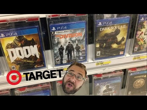 GRIM GOES SHOPPING FOR PS4 GAMES AT TARGET!