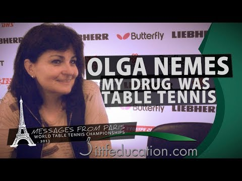 Olga Nemes   My Drug Was Table Tennis  - Messages From Paris