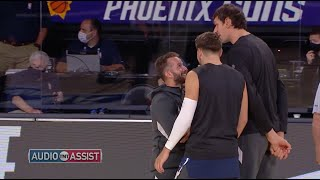 Luka Doncic, Boban and J.J. Barea Mic'd Up Was Gold Thumb