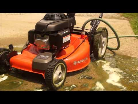 Husqvarna Mower Deck Cleaning Youtube