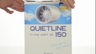 VENTS Quietline 150: a new silent duct fan