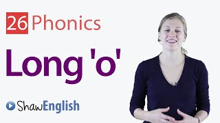English Phonics Long 'o' Vowel Sound