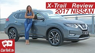 2017 Nissan X-Trail TI Review | CarTell.tv