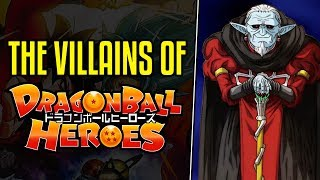 Villains of Dragon Ball Heroes Explained
