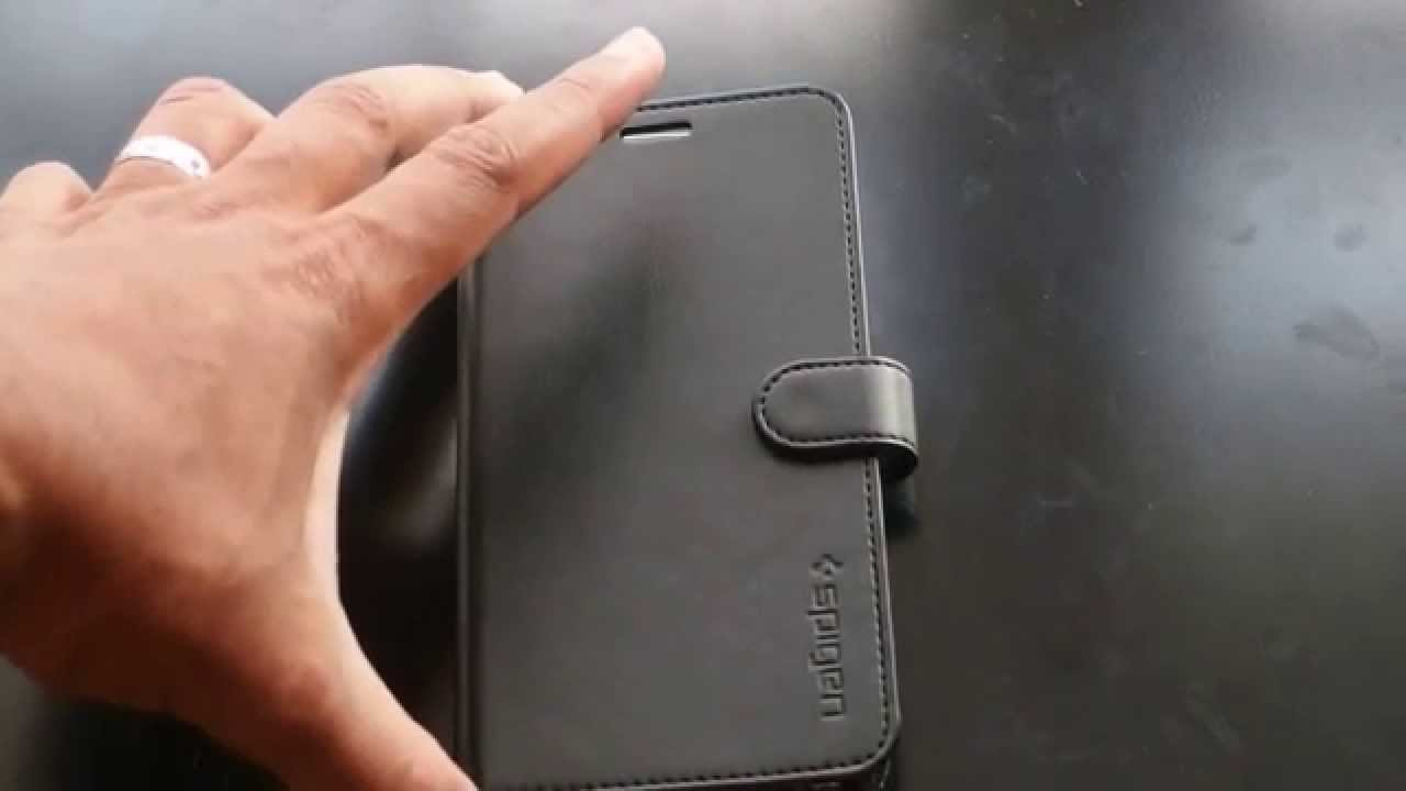 Galaxy Note 5 Spigen Wallet Case Youtube 9 S Leather