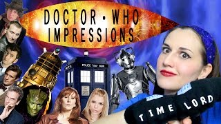 Doctor Who Impressions - Whovian - Madi2theMax