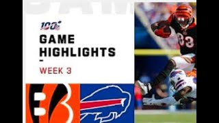 Bills vs. Bengals Week 3 Highlights | NFL 2019