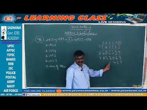 Speed Maths-1