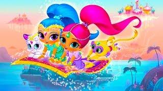 Шиммер и Шайн на русском - новая музыкальная игрушка. Обзор. Shimmer and Shine toy review