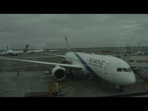 Elal 787-9 LY002 Full Flight From New York To Tel Aviv