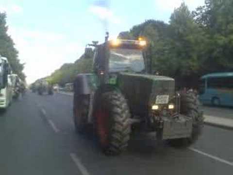 traktoren streik