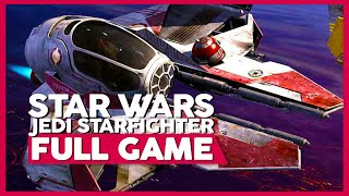 Star Wars: Jedi Starfighter | Full Game Playthrough | No Commentary [PS4 60FPS]