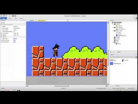 Tutoriales Construct 2 Animar juego de plataformas profesional