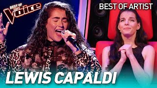 Beautiful LEWIS CAPALDI covers in The Voice