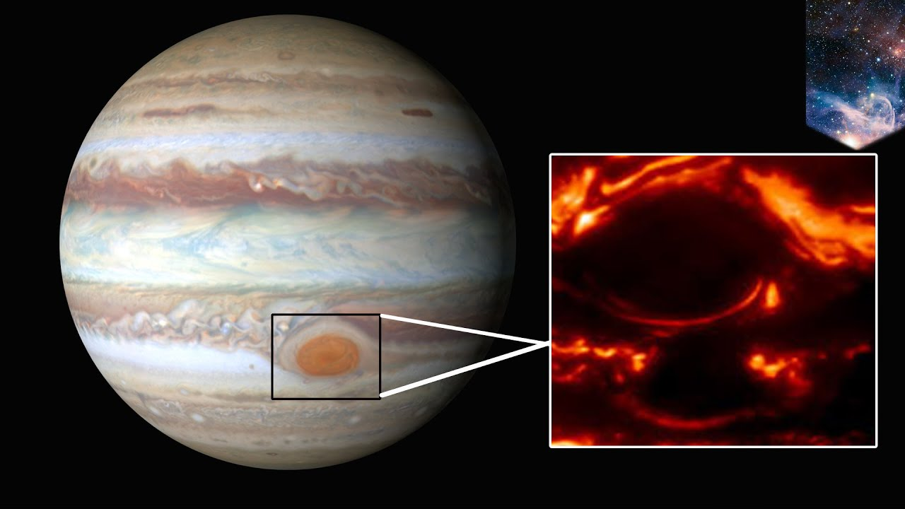 Jupiter's Great Red Spot: solar system's largest planet so ...