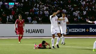 Tajikistan vs Philippines - 3:4 - AFC Asian Cup UAE 2019 Qualifiers - All Goals