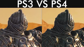 Dark Souls 2 - Graphics Comparison - PS3 vs PS4 [Screenshot Comparison]