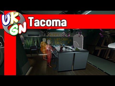 Tacoma [Xbox One] Full Walkthrough - All Achievements