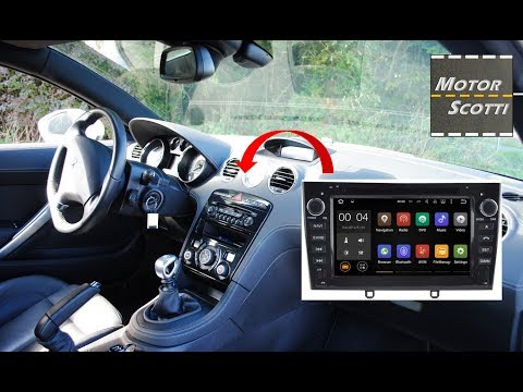 Installing An Android Color Screen Autoradio - Peugeot RCZ