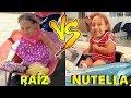 Criança Raíz VS Criança Nutella nas férias - MC Divertida