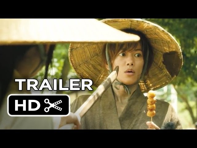 Rurouni Kenshin Official UK Trailer (2013) - Japanese Action Movie HD