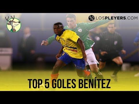 Top 5 goles de Christian Benítez en México