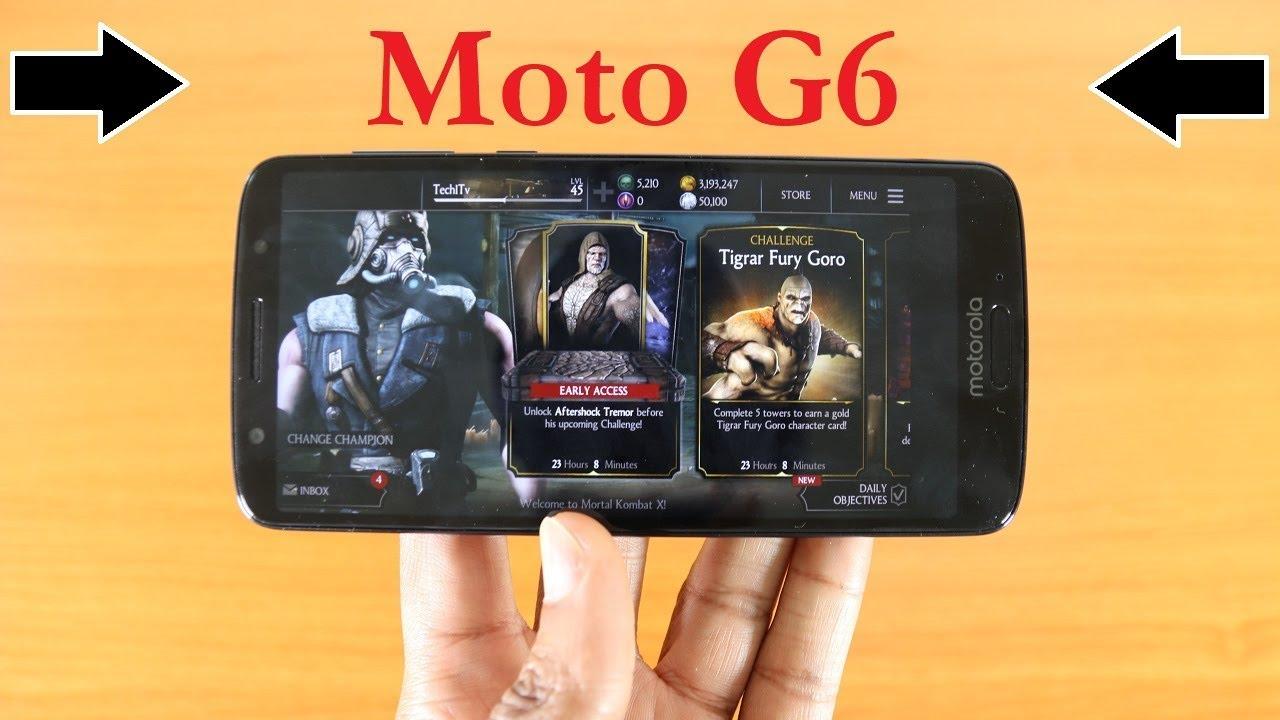 moto g6 gaming test does it game - fortnite on motorola g6