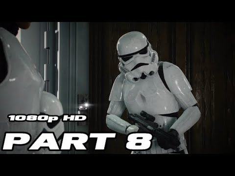 STAR WARS BATTLEFRONT 2 Walkthrough Gameplay Part 8 - Del - Campaign Mission 8 - No Commentary