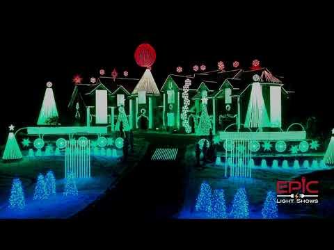Christmas Ping Pong - Larsens Light Show