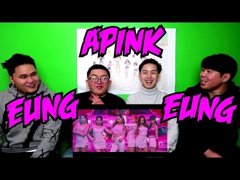 APINK - EUNG EUNG MV REACTION (FUNNY FANBOYS)
