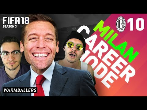 A LITTLE HELP FROM MY FRIENDS! - AC Milan Career Mode Ep. #10 (FIFA 18)