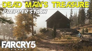 Dead Man's Treasure, Dead Man's Mill (Henbane River Prepper Stash Location & Guide) Far Cry 5
