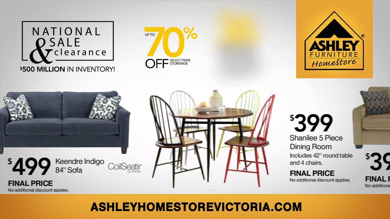 Ashley Furniture Victoria, TX National Sale U0026 Clearance July 2014