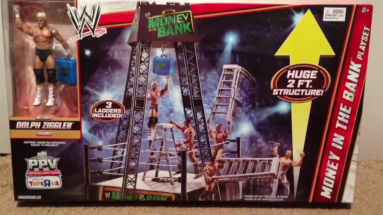 Wwe Toys Money In The Bank 114