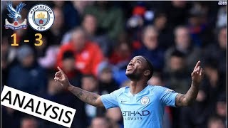 Raheem Sterling Steers Man City To 3 Points | Crystal Palace 1 - 3 Man City