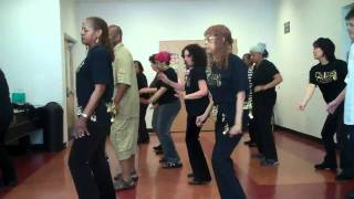 Soldier of Love-PEBBLES Queens + Kings Soul Line Dancers