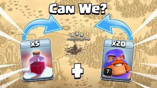 "Clash of Clans New ""Santa Surprise"" Spell V/S ""El Primo"" - Attack Strategy 2018"