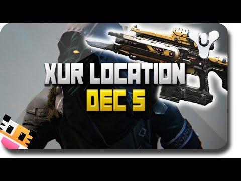 "Destiny ""Xur Location and Xur Exotic Guns"" ""Plan C"" - Week 13 (Destiny Dec 5)"