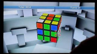 Rubik's World for Wii solve in 53s