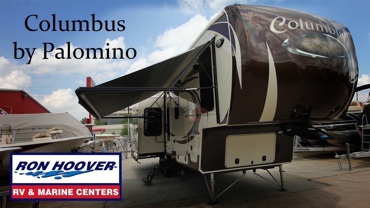 New Columbus Fifth Wheel by Palomino RV features and construction