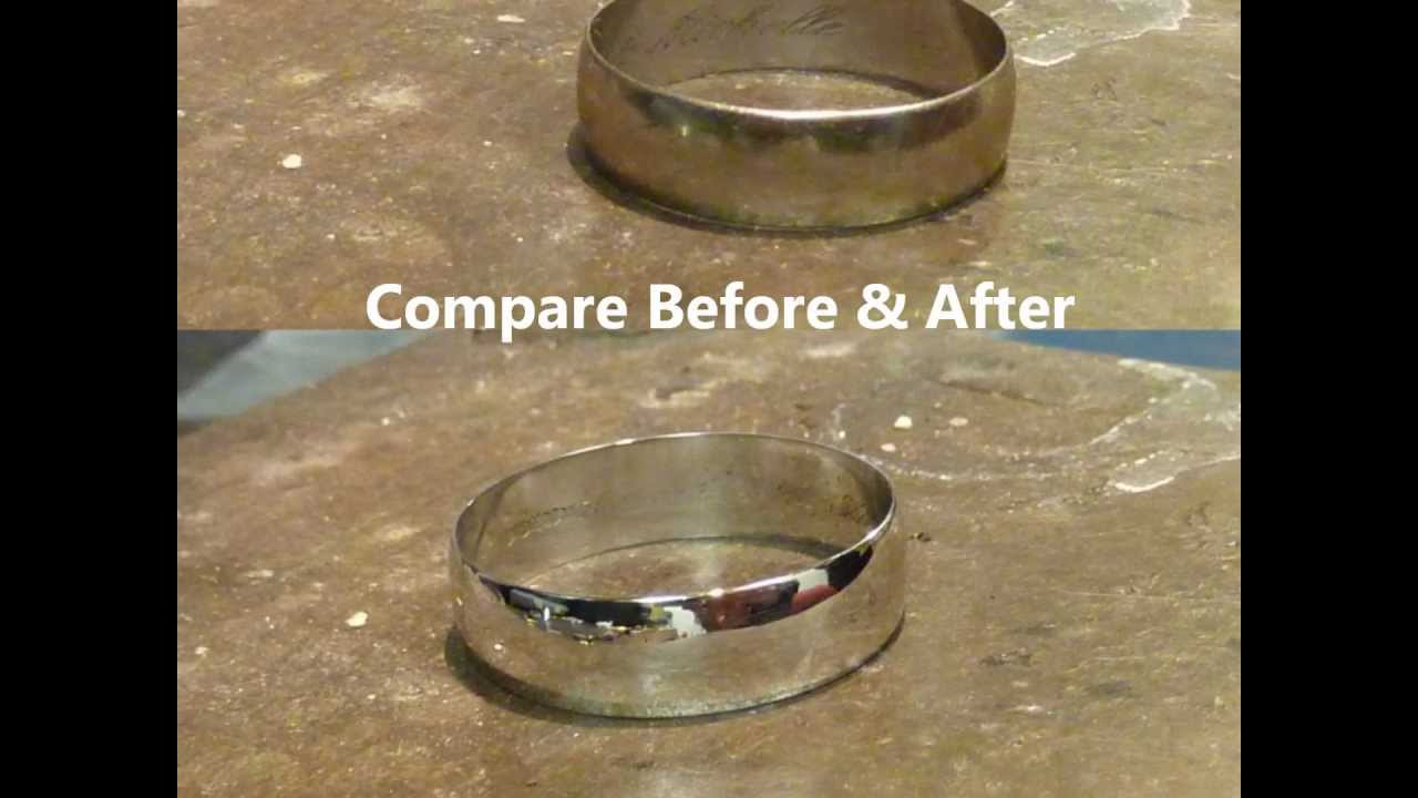 Re-Rhodium White Gold Ring - YouTube