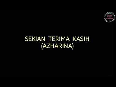 Azharina - Sekian Terima Kasih (Lyrics) Ost. Jejak Karmila