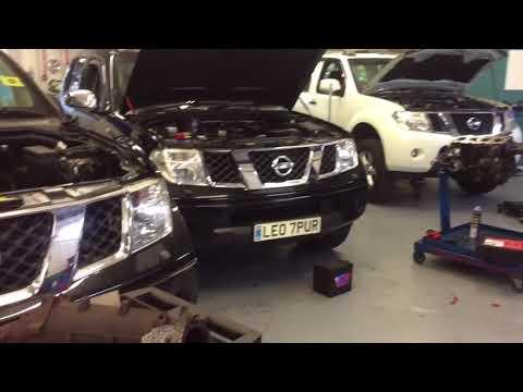 Nissan Navara Pathfinder Black Smoke Diagnosed underpowered over fueling
